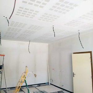 Réalisation d'un Plafond acoustique
