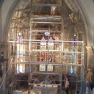 Rénovation des enduits et des peintures de l'Eglise d'Athesans